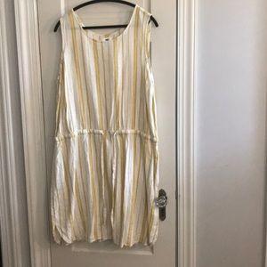 Striped Linen blend Old Navy dress XXL Tall